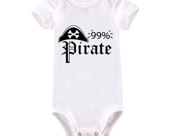 Nautical baby gift etsy 99 pirate baby bodysuit nautical baby gift pirate baby aargh negle Gallery