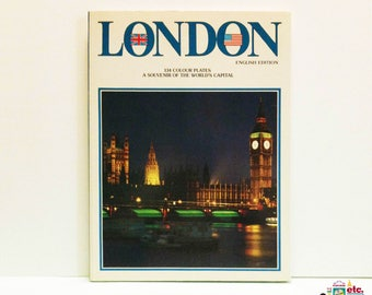 London, A Souvenir of the World's Capital, Softcover, English Ed, 1988, Travel Collectible, Storti Edizioni, Venezia, Thomas & Benacci LTD