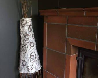 felt floor lamp wooden floor lamp felt wooden lamp big floor lamp