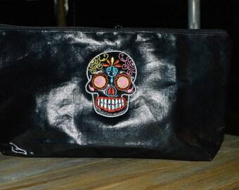 coated cotton Kit skull black 38/19 / 5cm