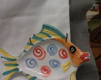 Fish Dish Fish Plate Fish Wall Hanger Fish Ash Tray or Dish