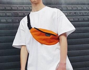 Minimalist Bum Bag Orange