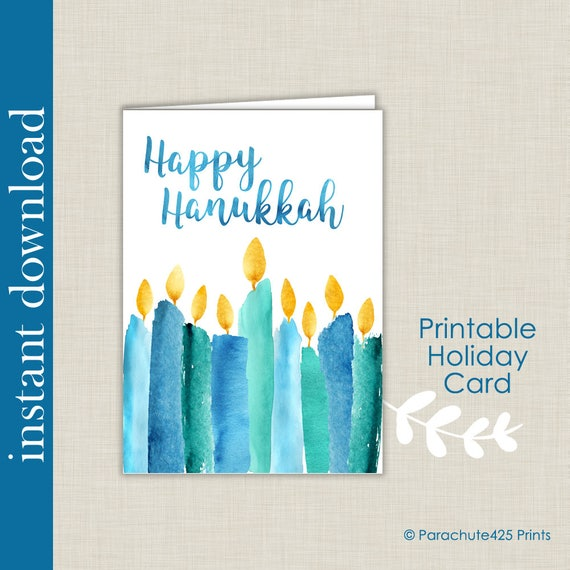 Persnickety image pertaining to printable hanukkah card