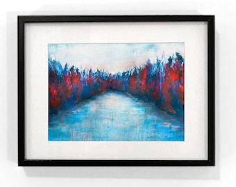 Vinter- Landscape Print - Limited Edition Print of 200 - Coloured Print