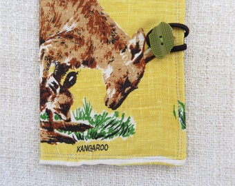 Passport cover, Kangaroo passport cover, Kangaroo passport holder, Travel document holder, Handmade passport cover, Australian souvenir