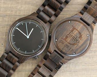 Husband Gift, Wood Watch, Personalized Watch, Mens Birthday Gift, Anniversary Gifts, Boyfriend Gift Idea, Mens Wooden Watch, Wedding Watches