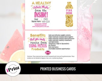 Plexus Business Card • Plexus Slim Business Cards • Plexus Marketing Business Card • PLX-BC-011