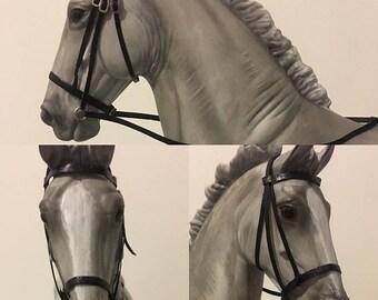 Model horse bridle