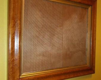 """Genuine Antique Birds Eye Maple Ogee sampler frame 1  1/2 """" (38mm) wide"""