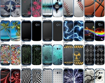 Choose Any 2 Designs - Vinyl Skins / Decals / Stickers for LG Extravert 2 - Android Smartphone