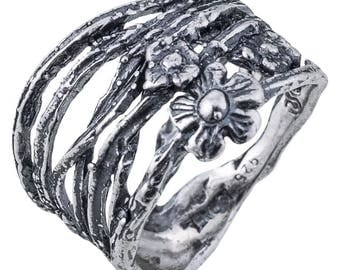 Sterling Silver Ring, Silver Ring, Fashion Jewelry Gift, handmade