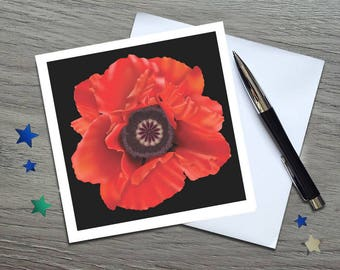 Remembrance Day Poppy - Remembrance Gifts - Remembrance Poppy - Remembrance Day - Poppy Art - Poppy Gift - Poppy - Poppy Card - Remembrance