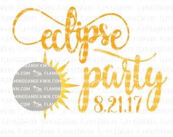 eclipse svg, solar eclipse 2017 svg, solar eclipse svg, svg cut files, eclipse party svg, 8.21.17