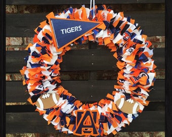 Auburn University Wreath - Auburn Wreath - Auburn Tigers Wreath - Auburn University Tigers Wreath - AU Wreath