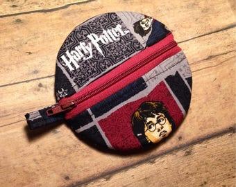 Harry Potter baby, pacifier pouch, pacifier case, pacifier carrier, pacifier holder, pacifer bag, washable binky holder, binky case