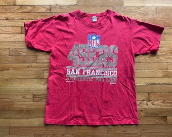 Vintage 1995 San Fransisco 49ERS T-Shirt By Russell Size XL Extra Large