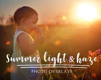 130 Summer light and haze photo overlays