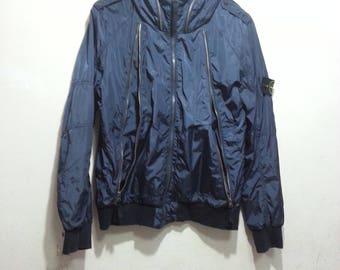 vintage stone island bomber G9 windbreaker jacket  size XL youth (same as medium adult)