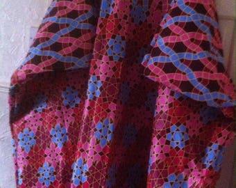African print plus size kaftan size 28-32