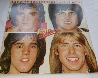 33 LP Album Record Vinyl The Bay City Rollers Greatest Hits 1977 Arista Records AB 4158