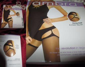 garter panties & stockings size tall