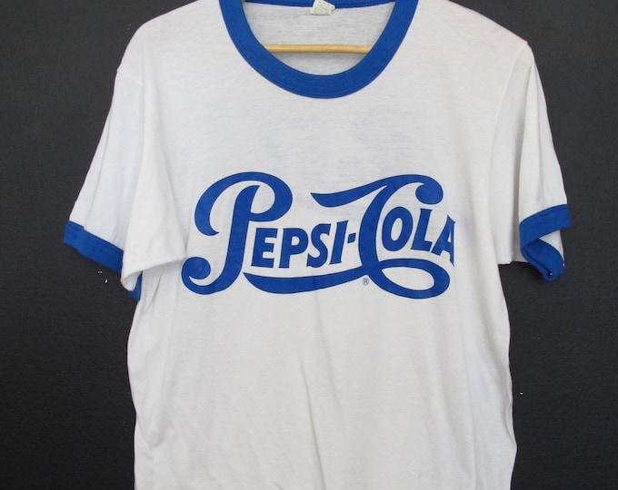 Pepsi Cola 1980's Vintage Tshirt