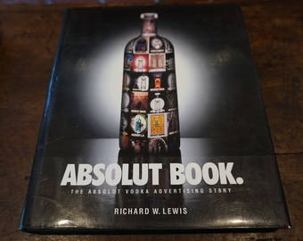 Absolut Book 1996/The Absolut Vodka Advertising Story/ Great Gift/ Barware