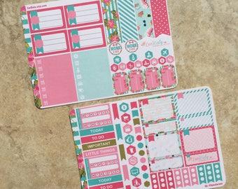 Summer Fun : Mini Weekly Sampler Sticker Kit   inkWELL Press Planner   Bound - A5 - Quarterly   LucKaty