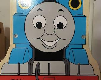 Thomas the Train Wooden Train Carrier *Rare*