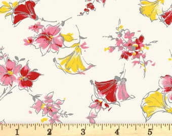 Penny Rose Fabrics 'Lily Cream' Fabric By The Yard; Lily by Sue Penn, C5930 Cream
