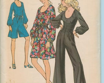 Butterick Misses' One-Piece Pantdress 6009