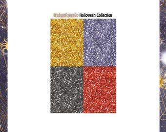 32 Glitter Headers (Halloween Collection)