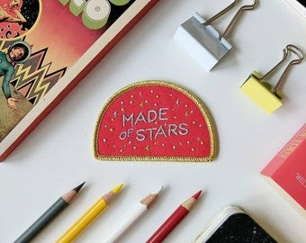 Made of Stars Embroidered Patch 2nd Edition