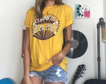 Vintage 80's Yellow Basketball Tee