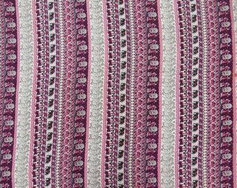 """Multicolor Printed, Polyester Fabric, Home Accessories, Dress Fabric, Decor Fabric, 45"""" Inch Apparel Fabric By The Yard ZBP66A"""