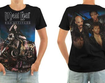 MEAT LOAF bad attitude shirt all sizes