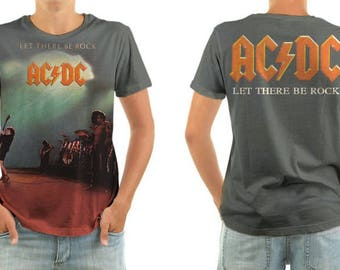 AC/DC let there be rock shirt all sizes