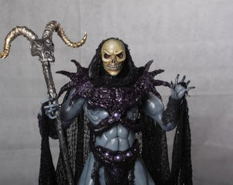 Skeletor - handmade ooak MOTU inspired sculpture