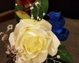 White Tea Rose Corsage