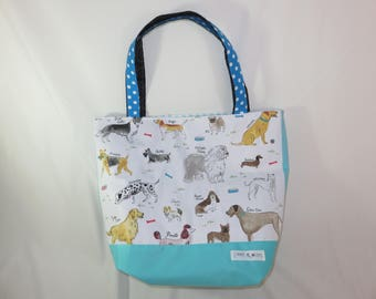 extra large tote bag dog loveru0027s tote - Large Tote Bags