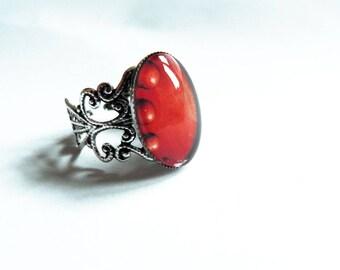 Ring, filigree, (one ring)