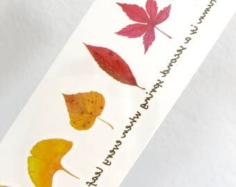 Autumn Leaves - Temporary Tattoos // Cool // Cute // Hipster // Summer // Party