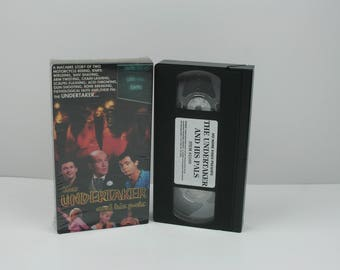 The Undertaker and His Pals VHS