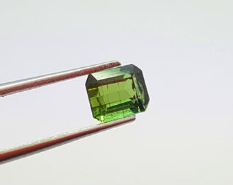 1.35 Carat Green Color Loose Gemstone Tourmaline @ Afghanistan 8*7*6mm (7)
