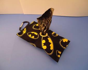 Dog Poop Bag Dispenser Batman Inspired Dog Waste bag holder