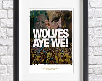 Limited Edition 'Wolves Aye We' Acrylic Print - Sparkius