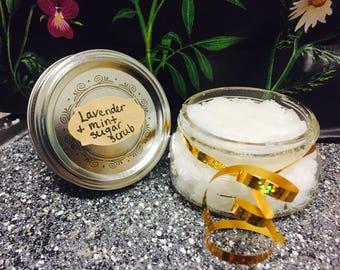 Lavender + Mint Sugar Scrub
