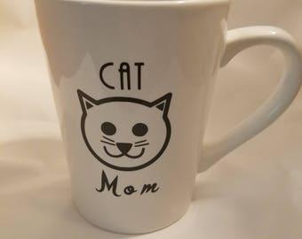 Cat mom mug, Cat lovers mug, Cat mom, Cat mom coffee mug,Cat owner mug, Cat Mom gift, Mother's Day gift, Mom gift, Pet Owner gift