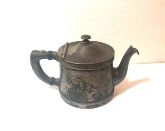 Benedict Indestructo #1354 Teapot with hinged lid