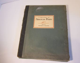 Art Book, A Treasury of American Prints, 1939